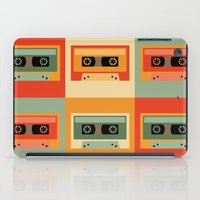 cassette iPad Cases featuring cassette by vitamin