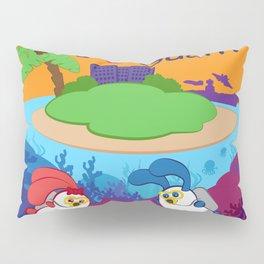 Ernest & Coraline | I love Guam Pillow Sham