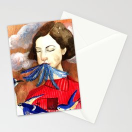 Le nuvole Stationery Cards