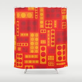 They Look Like Legos! Shower Curtain
