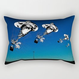 Crow Hat Machine Rectangular Pillow