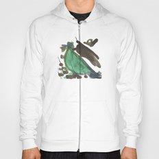 Green Bird Hoody