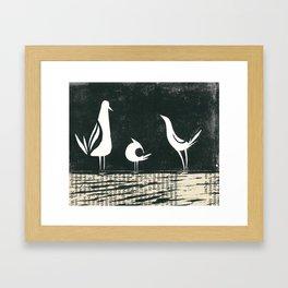 Piou Ier, Gros Piou et Piou Lala Framed Art Print