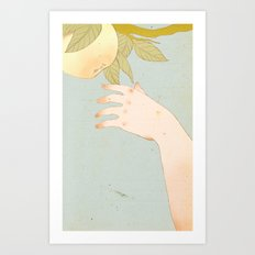 Reach version 2 Art Print