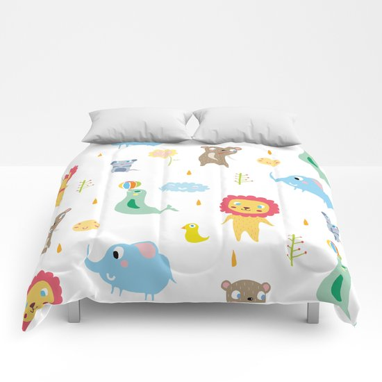 Zoo Party Comforters