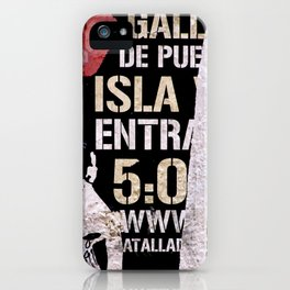 Isla iPhone Case