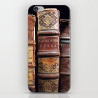 library iPhone & iPod Skins featuring Library by Mad Marys
