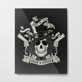 GnR - Not In This Lifetime Tour (Slash) Metal Print