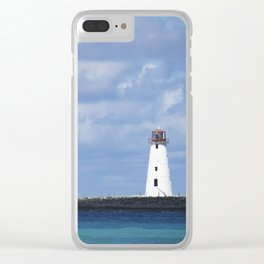 Bahamas Cruise Series 144 Clear iPhone Case