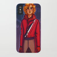 enjolras iPhone & iPod Cases featuring Modern Enjolras by juanjoltaire