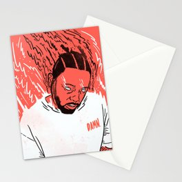 Kendrick Lamar - Damn. Stationery Cards