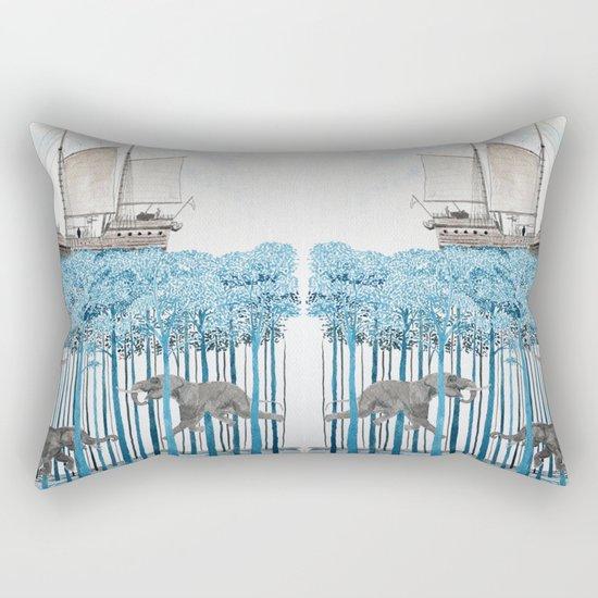Sea of Trees Rectangular Pillow