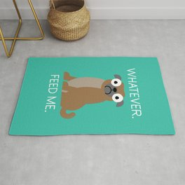 The Pugly Truth Rug