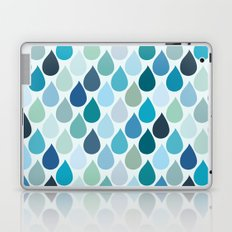 Blue rain Laptop & iPad Skin