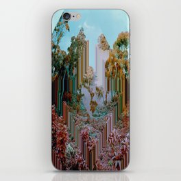 the crystal forest iPhone Skin