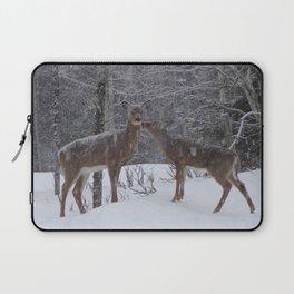 Kissing Deer Laptop Sleeve