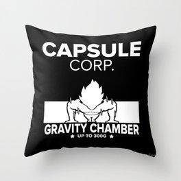 Gym Saiyan Throw Pillow