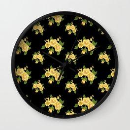 Moon-Night Wall Clock