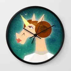 You're my only Horn Wall Clock