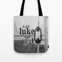 luke hemmings Tote Bags featuring Luke by KimberosePhotography
