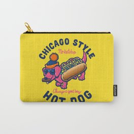 Da Chicago Dog With Text Carry-All Pouch
