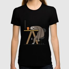 Office sloth T-shirt