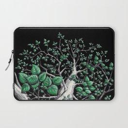 Big tree in black Laptop Sleeve