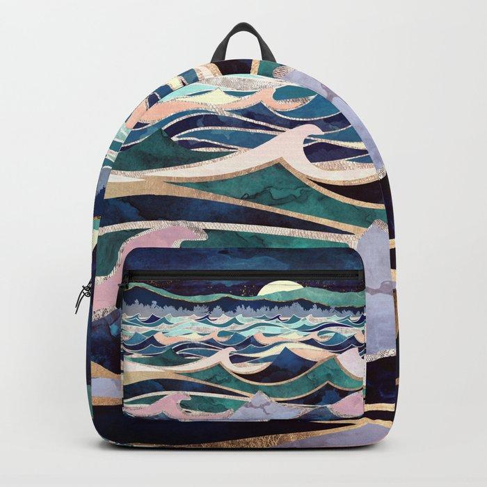 Moonlit Ocean Rucksack