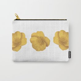 Buttercup Cutout Carry-All Pouch