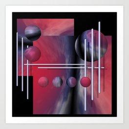 liking geometry -2- Art Print