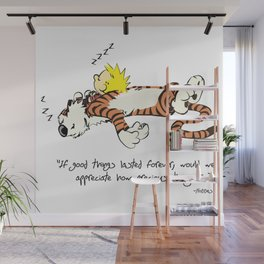 Calvin And Hobbes Quote Wall Mural