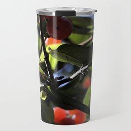 Jane's Garden - Sunkissed Red Berries Travel Mug