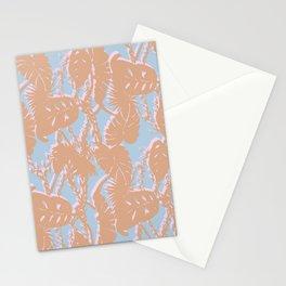 Contrast Palms Stationery Cards
