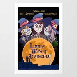 Little Witch Academia / Hocus Pocus Art Print