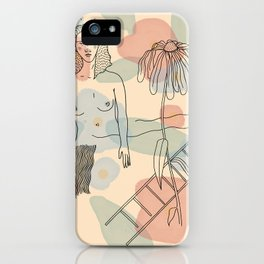 Dying Daisy  iPhone Case