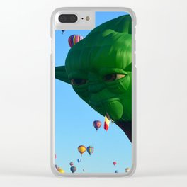 Yoda at the Fiesta Clear iPhone Case