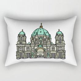 Berlin Cathedral Rectangular Pillow