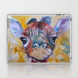 Giraffe Baby Laptop & iPad Skin