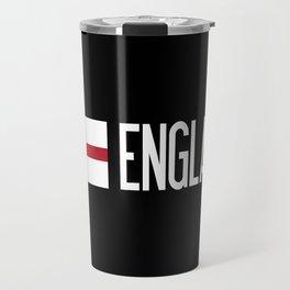 England: English Flag Travel Mug