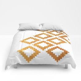 Gold nordic design Comforters