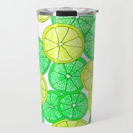 Lemons and Limes Travel Mug