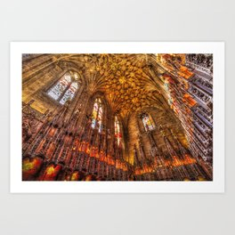 Scottish Chapel Canvas Art Art Print