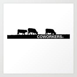 coworkers© Art Print