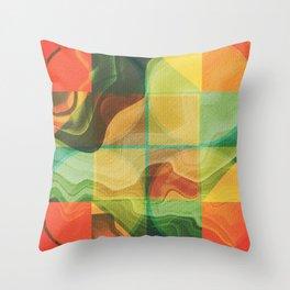 Abstract artwork Throw Pillow