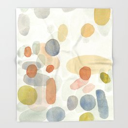 Whimsical abstract Throw Blanket