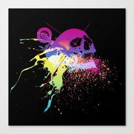 MotoSkull 07 Canvas Print