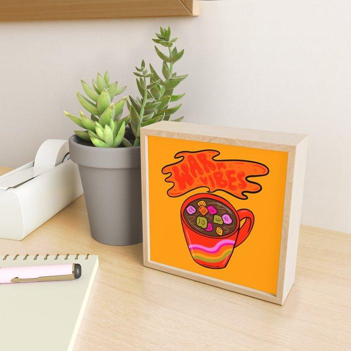 Warm Vibes Framed Mini Art Print