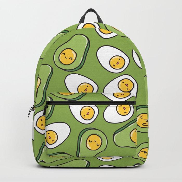 Egg and avocado Backpack