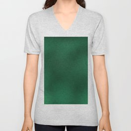Color gradient and texture 62 dark green Unisex V-Neck