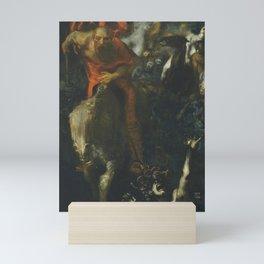 Franz Stuck - La chasse sauvage Mini Art Print
